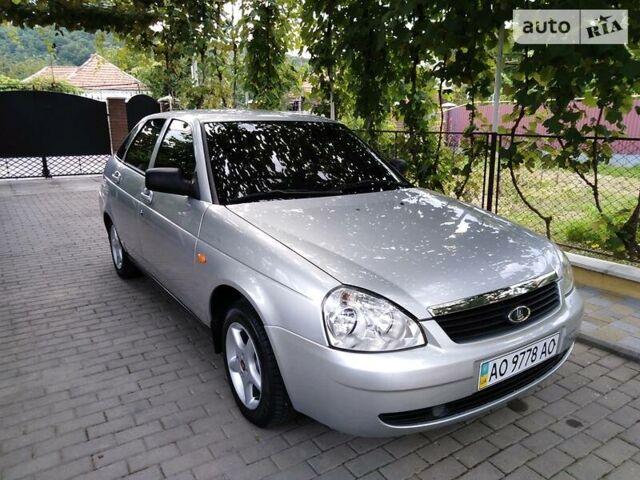 Серый ВАЗ 2172, объемом двигателя 1.6 л и пробегом 160 тыс. км за 3700 $, фото 1 на Automoto.ua