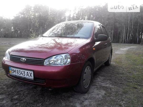 Красный ВАЗ Калина, объемом двигателя 1.4 л и пробегом 96 тыс. км за 3500 $, фото 1 на Automoto.ua