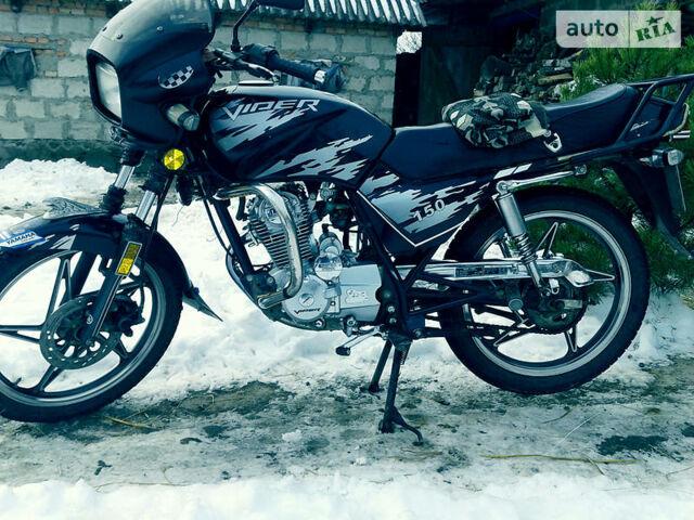 Чорний Вайпер 150, об'ємом двигуна 0.15 л та пробігом 22 тис. км за 650 $, фото 1 на Automoto.ua