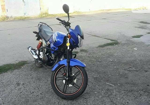Синий Вайпер 150, объемом двигателя 0.15 л и пробегом 9 тыс. км за 681 $, фото 1 на Automoto.ua
