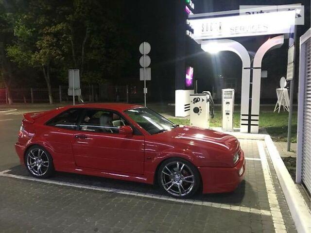 Красный Фольксваген Коррадо, объемом двигателя 2.9 л и пробегом 260 тыс. км за 12000 $, фото 1 на Automoto.ua