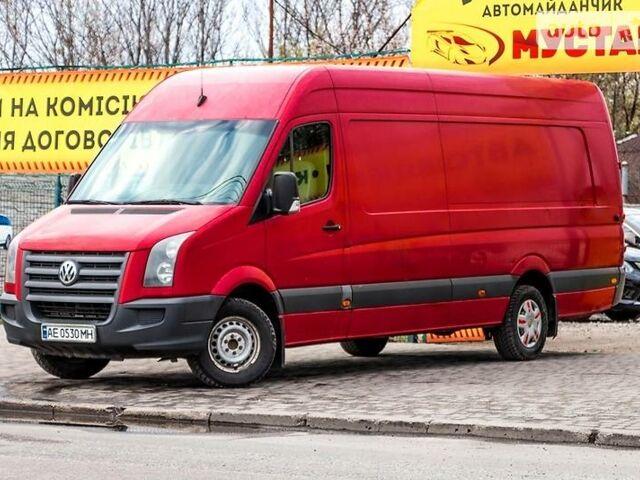 Красный Фольксваген Крафтер груз., объемом двигателя 3 л и пробегом 165 тыс. км за 9500 $, фото 1 на Automoto.ua