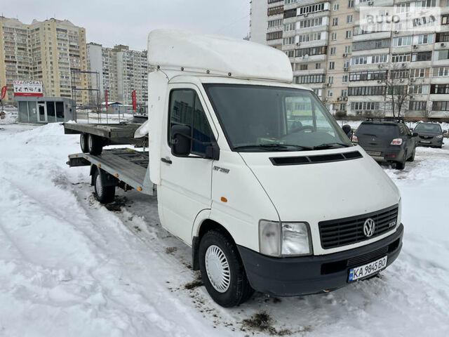 Белый Фольксваген ЛТ груз., объемом двигателя 2.5 л и пробегом 480 тыс. км за 12700 $, фото 1 на Automoto.ua