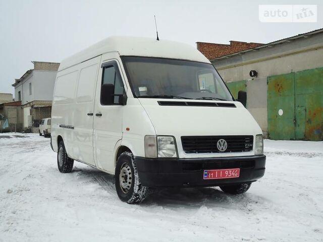 Білий Фольксваген ЛТ вант., об'ємом двигуна 2.5 л та пробігом 311 тис. км за 7800 $, фото 1 на Automoto.ua