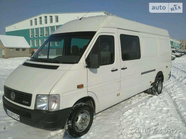Белый Фольксваген ЛТ пасс., объемом двигателя 2.46 л и пробегом 500 тыс. км за 11400 $, фото 1 на Automoto.ua