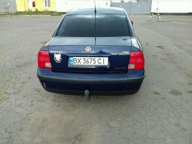 Синий Фольксваген Пассат Б5, объемом двигателя 1.9 л и пробегом 340 тыс. км за 5300 $, фото 1 на Automoto.ua