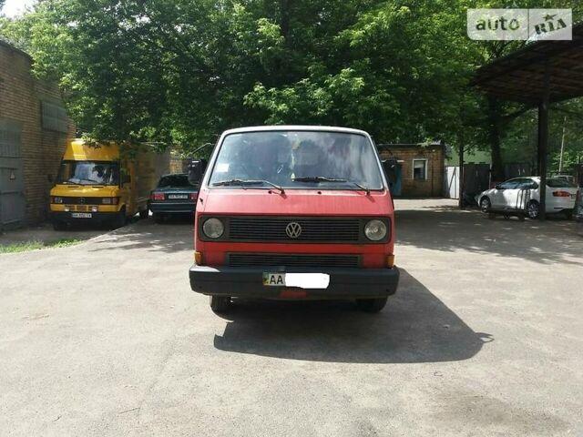 Червоний Фольксваген Т3 (Транспортер), об'ємом двигуна 1.6 л та пробігом 540 тис. км за 2000 $, фото 1 на Automoto.ua