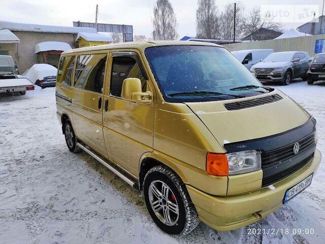 Оранжевый Фольксваген Т4 (Транспортер) пасс., объемом двигателя 2.4 л и пробегом 309 тыс. км за 5800 $, фото 1 на Automoto.ua