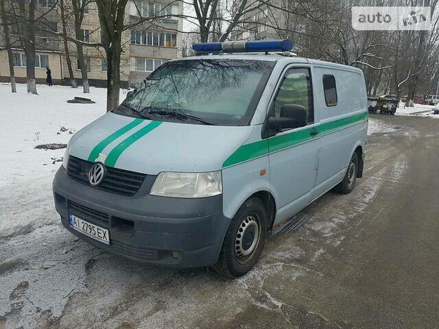 Сірий Фольксваген Т5 (Транспортер) вант., об'ємом двигуна 2.5 л та пробігом 350 тис. км за 10200 $, фото 1 на Automoto.ua