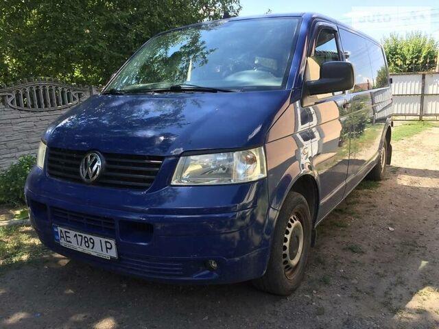 Синій Фольксваген Т5 (Транспортер) вант., об'ємом двигуна 2.5 л та пробігом 320 тис. км за 8000 $, фото 1 на Automoto.ua