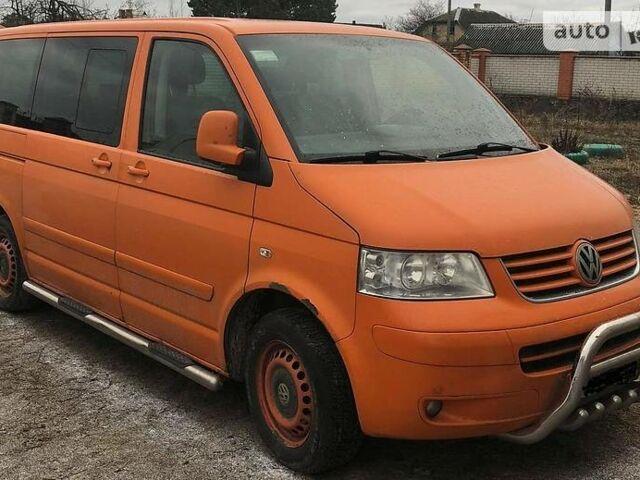 Апельсин Фольксваген T5 (Transporter) пасс., об'ємом двигуна 2.5 л та пробігом 215 тис. км за 11500 $, фото 1 на Automoto.ua