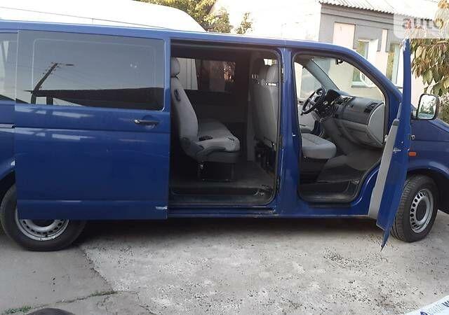 Синий Фольксваген Т5 (Транспортер) пасс., об'ємом двигуна 2.5 л та пробігом 264 тис. км за 7800 $, фото 1 на Automoto.ua