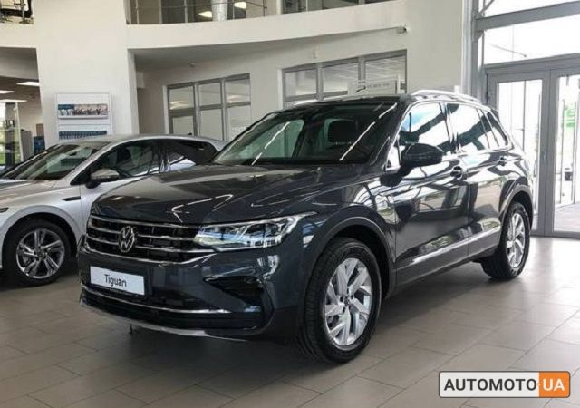 купить новое авто Фольксваген Тигуан 2021 года от официального дилера Альянс-ИФ Volkswagen Фольксваген фото