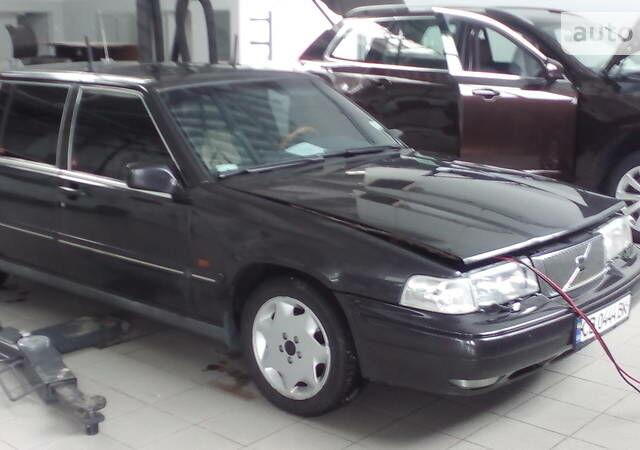 Черный Вольво 960, объемом двигателя 3 л и пробегом 380 тыс. км за 4700 $, фото 1 на Automoto.ua