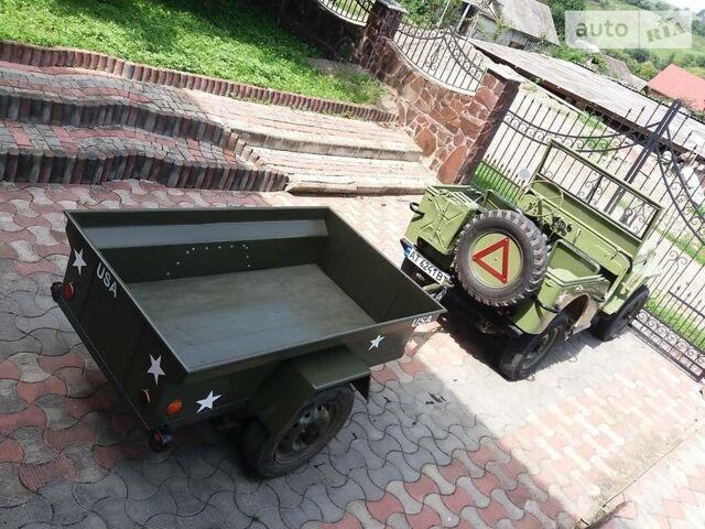 Зелений Вілліс MB, об'ємом двигуна 2.2 л та пробігом 1 тис. км за 15200 $, фото 1 на Automoto.ua