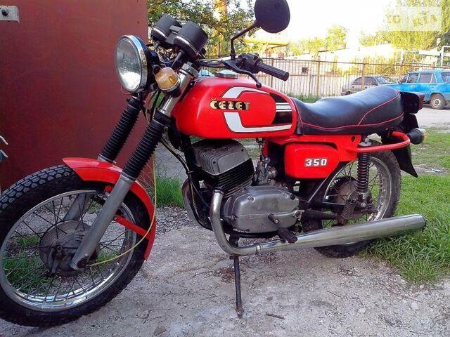 Червоний Ява-cz 472.6, об'ємом двигуна 0.35 л та пробігом 3 тис. км за 650 $, фото 1 на Automoto.ua