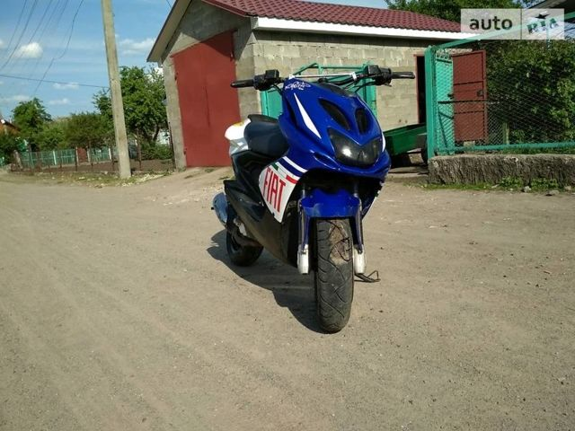 Синій Ямаха Aerox, об'ємом двигуна 0.05 л та пробігом 1 тис. км за 629 $, фото 1 на Automoto.ua
