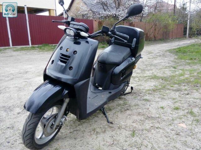 Чорний Ямаха Gear, об'ємом двигуна 0 л та пробігом 3 тис. км за 1800 $, фото 1 на Automoto.ua