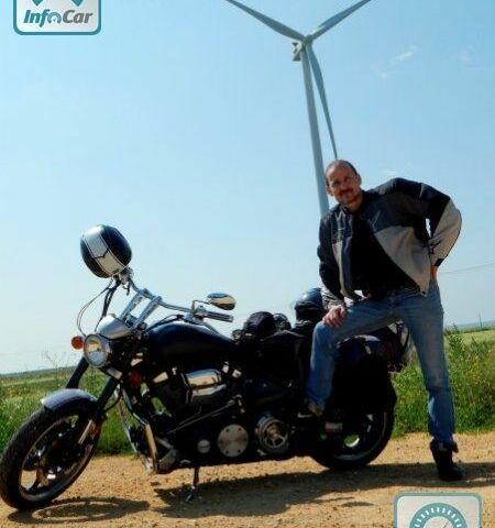 Серебряный Ямаха Роад Стар, объемом двигателя 0 л и пробегом 12 тыс. км за 12450 $, фото 1 на Automoto.ua
