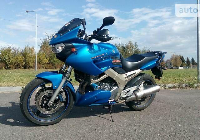 Синий Ямаха ТДМ, объемом двигателя 0.9 л и пробегом 52 тыс. км за 3700 $, фото 1 на Automoto.ua