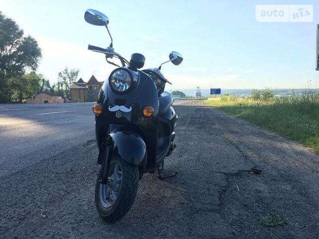 Черный Ямаха Вино, объемом двигателя 0.05 л и пробегом 4 тыс. км за 800 $, фото 1 на Automoto.ua
