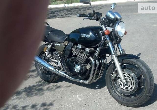 Чорний Ямаха XJR, об'ємом двигуна 0.4 л та пробігом 40 тис. км за 2200 $, фото 1 на Automoto.ua