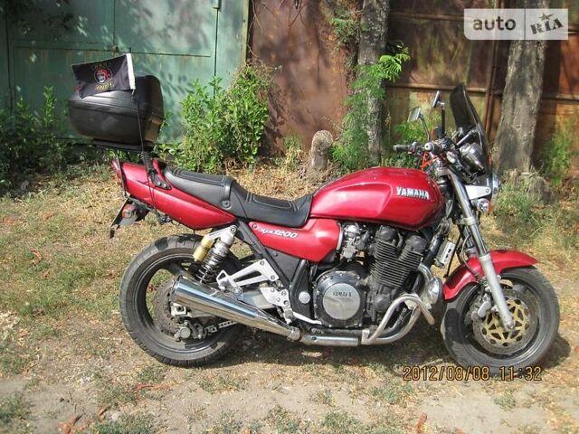 Червоний Ямаха XJR, об'ємом двигуна 1.2 л та пробігом 75 тис. км за 3500 $, фото 1 на Automoto.ua