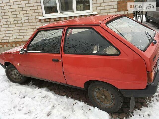 Красный ЗАЗ 1102 Таврия, объемом двигателя 0 л и пробегом 53 тыс. км за 700 $, фото 1 на Automoto.ua