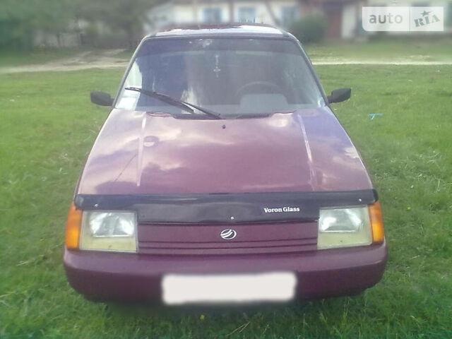 Красный ЗАЗ 1103 Славута, объемом двигателя 1.2 л и пробегом 100 тыс. км за 1710 $, фото 1 на Automoto.ua