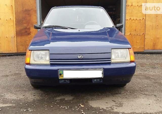 Синий ЗАЗ 1103 Славута, объемом двигателя 1.2 л и пробегом 110 тыс. км за 1800 $, фото 1 на Automoto.ua