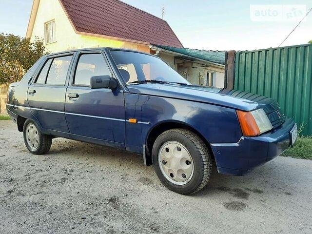 Синий ЗАЗ 1103 Славута, объемом двигателя 1.2 л и пробегом 66 тыс. км за 2150 $, фото 1 на Automoto.ua
