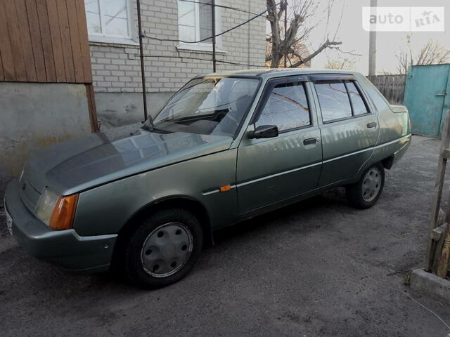 Зеленый ЗАЗ 1103 Славута, объемом двигателя 1.2 л и пробегом 64 тыс. км за 1600 $, фото 1 на Automoto.ua