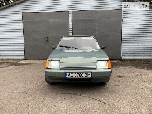 Зеленый ЗАЗ 1103 Славута, объемом двигателя 1.2 л и пробегом 123 тыс. км за 1550 $, фото 1 на Automoto.ua