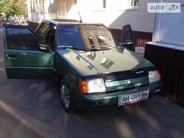 Зеленый ЗАЗ 1103 Славута, объемом двигателя 1.2 л и пробегом 54 тыс. км за 2250 $, фото 1 на Automoto.ua