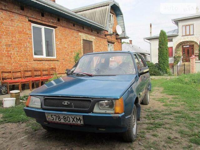 Синій ЗАЗ 1105 Дана, об'ємом двигуна 1 л та пробігом 2 тис. км за 1450 $, фото 1 на Automoto.ua