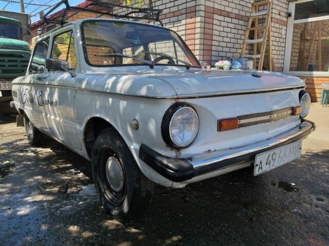 Белый ЗАЗ 968, объемом двигателя 1.2 л и пробегом 1 тыс. км за 549 $, фото 1 на Automoto.ua
