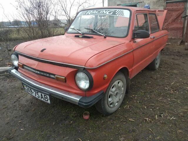 Красный ЗАЗ 968, объемом двигателя 0.96 л и пробегом 1 тыс. км за 500 $, фото 1 на Automoto.ua