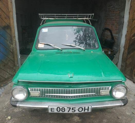 Зеленый ЗАЗ 968, объемом двигателя 1.2 л и пробегом 1 тыс. км за 500 $, фото 1 на Automoto.ua