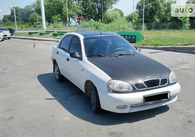 Белый ЗАЗ Ланос, объемом двигателя 1.4 л и пробегом 211 тыс. км за 2400 $, фото 1 на Automoto.ua