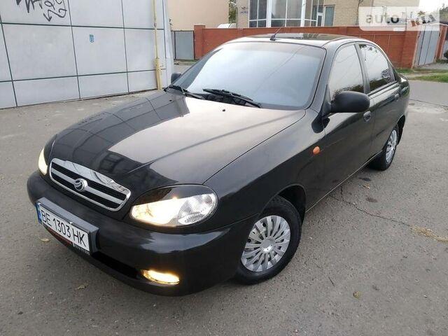 Черный ЗАЗ Ланос, объемом двигателя 1.5 л и пробегом 116 тыс. км за 4499 $, фото 1 на Automoto.ua