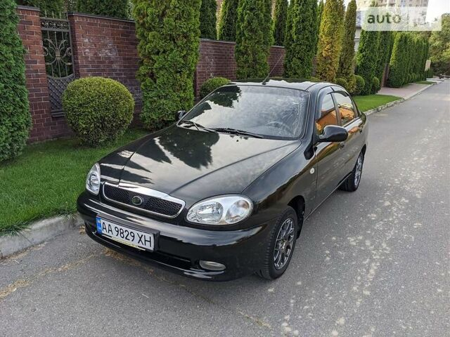 Черный ЗАЗ Ланос, объемом двигателя 1.5 л и пробегом 123 тыс. км за 4550 $, фото 1 на Automoto.ua