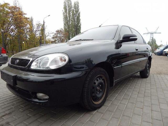 Черный ЗАЗ Ланос, объемом двигателя 1.4 л и пробегом 52 тыс. км за 6300 $, фото 1 на Automoto.ua