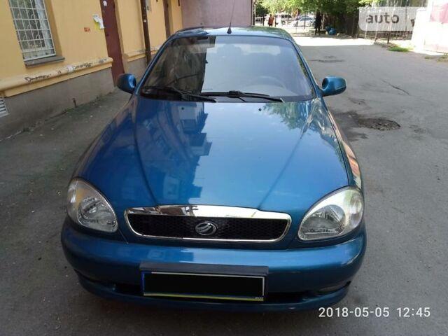 Синий ЗАЗ Ланос, объемом двигателя 1.5 л и пробегом 65 тыс. км за 5100 $, фото 1 на Automoto.ua