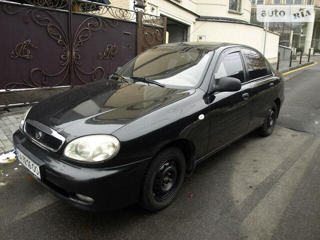 Черный ЗАЗ Сенс, объемом двигателя 1.3 л и пробегом 110 тыс. км за 3500 $, фото 1 на Automoto.ua