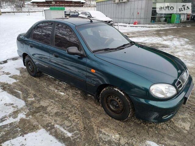 Зеленый ЗАЗ Сенс, объемом двигателя 1.3 л и пробегом 124 тыс. км за 3000 $, фото 1 на Automoto.ua