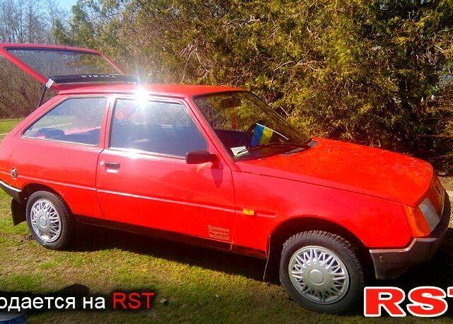 Красный ЗАЗ Таврия, объемом двигателя 1.1 л и пробегом 63 тыс. км за 1350 $, фото 1 на Automoto.ua