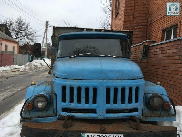 Синий ЗИЛ 130, объемом двигателя 5.9 л и пробегом 55 тыс. км за 1900 $, фото 1 на Automoto.ua