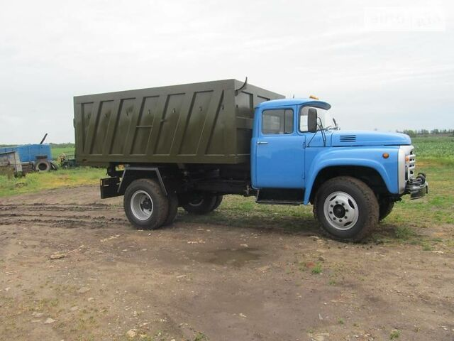 Синий ЗИЛ ММЗ 554, объемом двигателя 6 л и пробегом 1 тыс. км за 15000 $, фото 1 на Automoto.ua