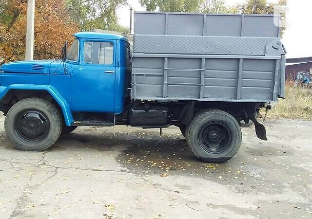 Синий ЗИЛ ММЗ 555, объемом двигателя 4.7 л и пробегом 1 тыс. км за 3900 $, фото 1 на Automoto.ua