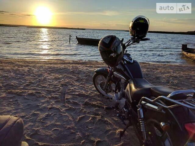 Черный Зонгшен 125, объемом двигателя 0.12 л и пробегом 33 тыс. км за 700 $, фото 1 на Automoto.ua